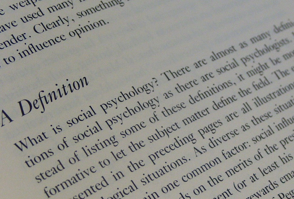 social psychology definition Social psychology social psychology uses scientific methods to understand how social influences impact human behavior it seeks to explain how feelings.