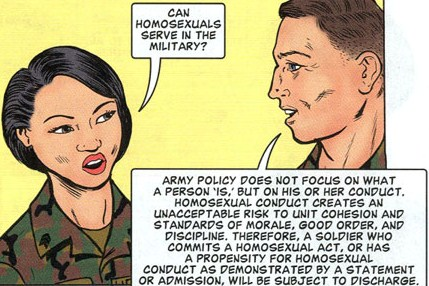 Dignity & Respect: A Training Guide on Homosexual Conduct Policy. ©2001, United States Army.